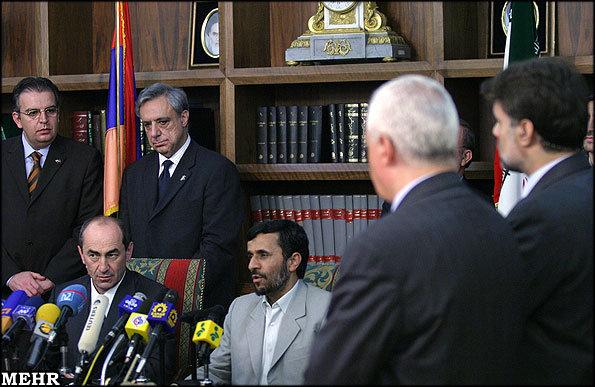 Armenian Iranian Press conference
