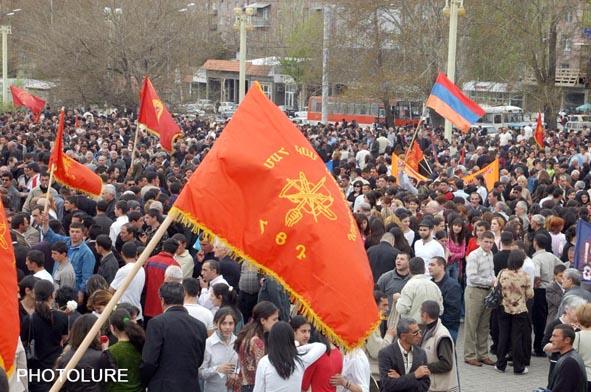 Armenian Genocide HunchakProtest.jpg
